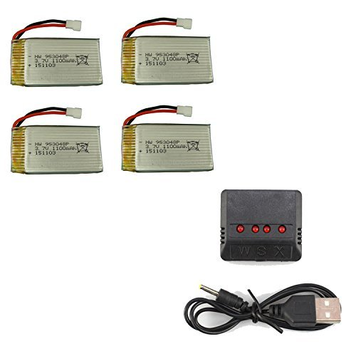 UUMART 1100mAh Upgraded Battery Quadcopter product image
