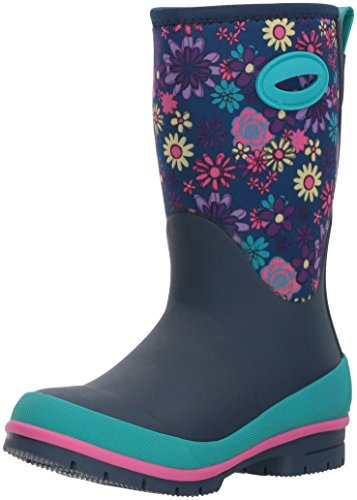 Western Chief Kid's Cold Rated Neoprene Boot with Memory Foam Snow, Wild Flower, 10 M US Toddler