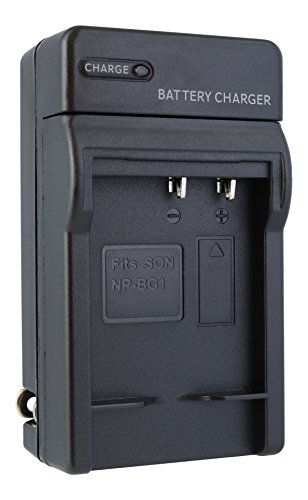 W30 Camera - TechFuel NP-BG1 NP-FG1 Battery Charger Kit for Sony Cyber-shot DSC-W30 Camera - For Home, Car and Travel Use
