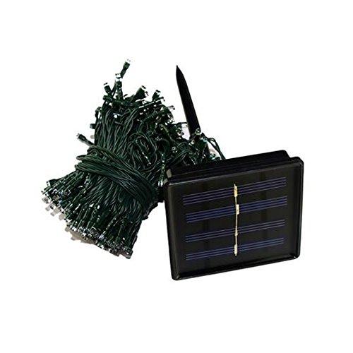 72' Sun Design (Brightsky 72ft 22m 200 Leds Warm White 8 Modes Solar Powered String Light Christmas Festival Decoration Strip Lights)