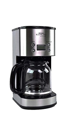 Home N Kitchenware Collection 12 Cup Coffee Maker with Digital Clock, Removable Filter Basket, Water indicator, Programmable (Collection Digital Drip Coffee Maker)