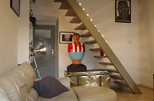 Valencia C.F. Escultura mas de un metro de altura muñeco futbolin gigante: Amazon.es: Handmade