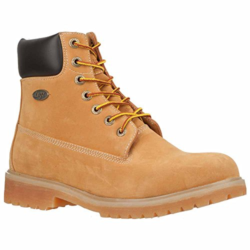 Lugz Mens Convoy Lace-up Work Boot Wheat