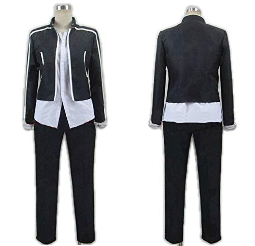 Fate/Stay Night Cosplay Costume Servant Archer Gilgamesh Sports Suit A Full Set Black