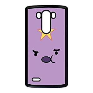 Printed Cover Protector LG G3 Cell Phone Case BlackAdventure Time Lumpy Space PrincessZmopi Unique Design Cases