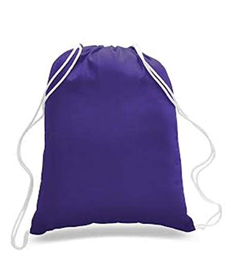 (Promotional Priced Cotton Drawstring Bags Backpacks Art Craft)