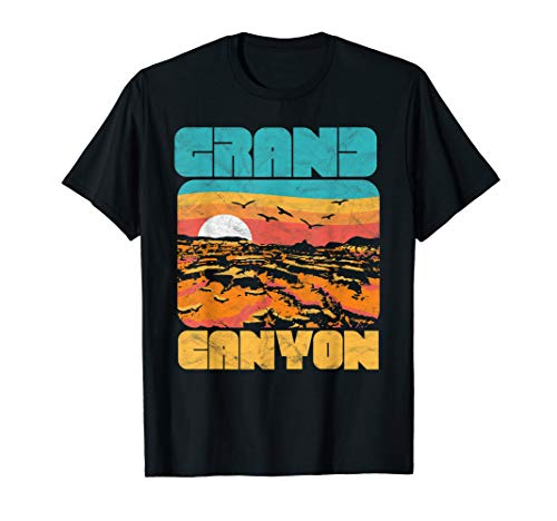 Vintage 80's Grand Canyon Retro Vibe T-Shirt ()