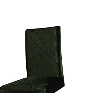 homyl 4piezas Silla Asiento de terciopelo elástico cubre pantalla Slipcovers para oficina en casa Decor