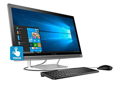 HP Newest Pavilion All-in-One 27 inch Full HD Flagship Premium Desktop | Intel Core i5-6400T Quad-Core | 8GB RAM | 1TB HDD | DVD +/-RW | B&O Audio | Webcam | Windows 10 | USB Keyboard&Mouse
