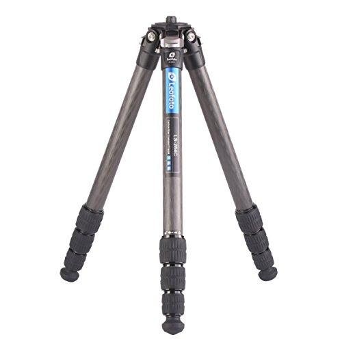 Leofoto LS-284C Tripod Legs Carbon Fiber CF 4 Section ''Smaller, Lighter, More Stable'' by LEOFOTO