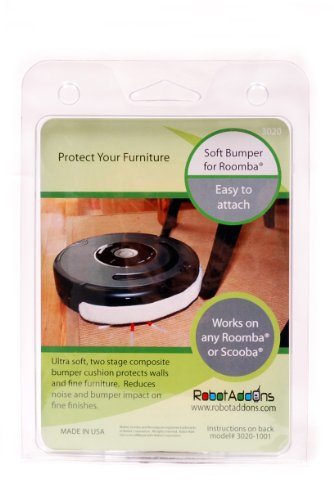 Robot Vacuum Parts Accessories Add Ons Ultra Soft Bumper