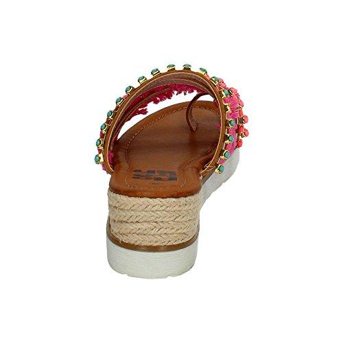 Refresh 63321 Sandalias con Cuña Mujer Sandalias Camel