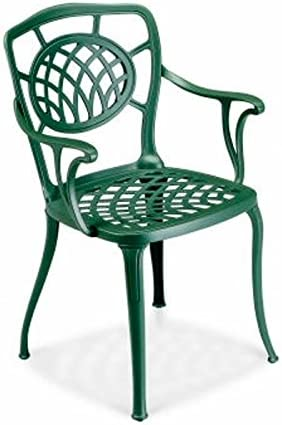 FAST Althea Set 2 Chairs with arms by Antique Green