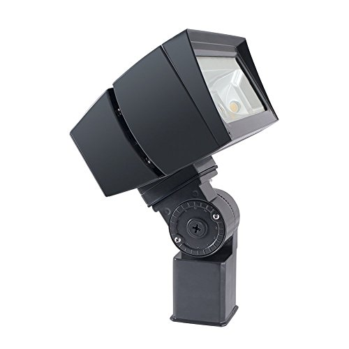- RAB Lighting FFLED26SF LED Floodlight, NEMA 7H x 6V Beam Spread, Slipfitter Mounted, Standard Type, 5000 K (Cool) Color Temp, 26W, Bronze Finish