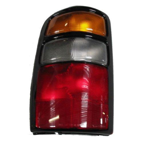 2004-2005-2006 Chevy/Chevrolet Suburban, Tahoe & GMC Yukon XL 1500 2500 Denali Tail Light Lamp Rear Brake Taillight Taillamp Left Driver Side (04 05 06)