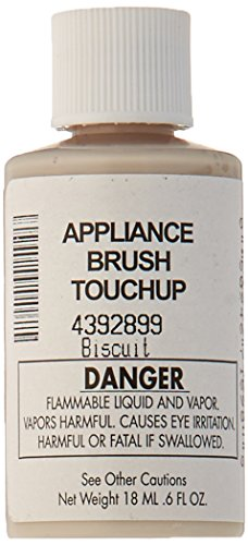 Biscuit Acrylic - Whirlpool 4392899 Biscuit Acrylic Touch Up Paint Bottle, Biscuit