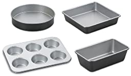 Cuisinart AMB-4 Chef\'s Classic Nonstick Bakeware 4-Piece Starter Set