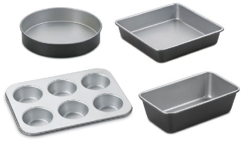Cuisinart Bakeware Set (Cuisinart AMB-4 Chef's Classic Nonstick Bakeware 4-Piece Starter Set)