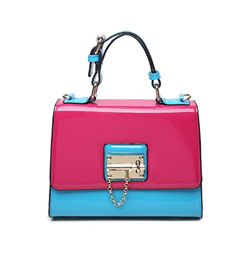 Designer Patent Leather Handbags: Amazon.com