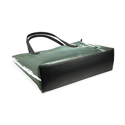 Women's Top Large Bennigiry Tote Bags Microphone Retro Handbags Satchel Purse Handle Music Shoulder IF1w1qx