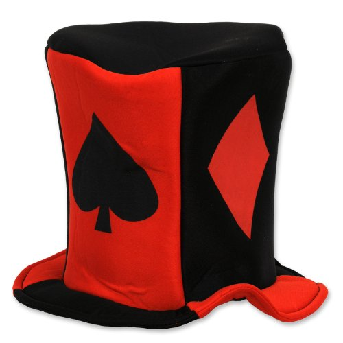 Las Vegas Party Costumes (Beistle 60311 Card Suit Fabric Hat)