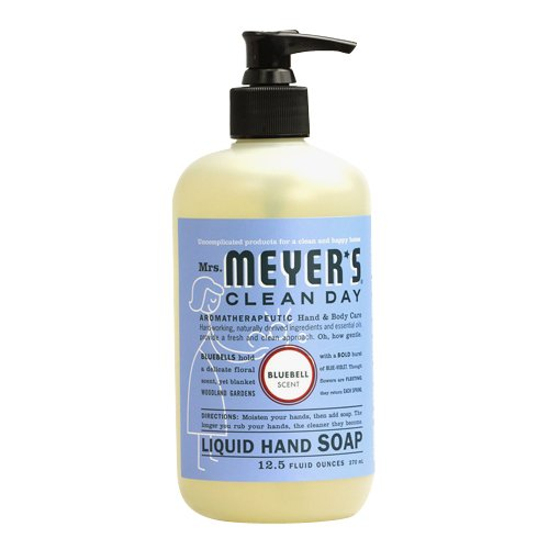 Mrs. Meyer\'s Liquid Hand Soap, Bluebell, 12.5 Fluid Ounce