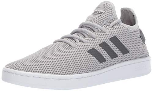 Adidas Mesh Sneakers - adidas Men's Court Adapt, Grey/White, 11 M US
