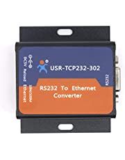 PUSR USR-TCP232-302 RS232 to Ethernet Converter Tiny Size Serial RS 232 to Ethernet TCP IP Server Module Support DHCP/DNS