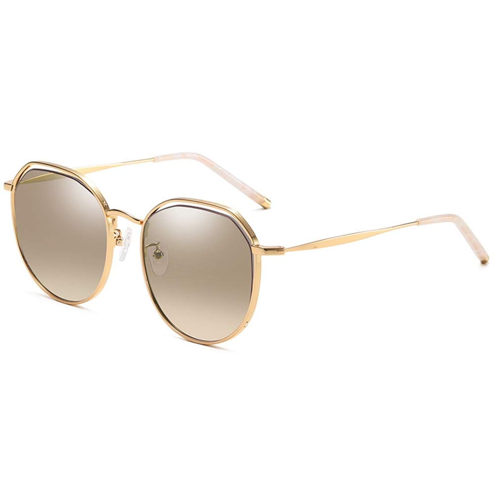 Silver Sunglasses Mirrored Aviator Sunglasses,Trend Men and Women Glasses Frame Fashion Glasses Retro Glasses Frame Plane Mirror