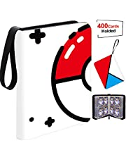 Card Binder Holder,Carrying Case Binder, Holds Up to 400 Cards - Trading Cards Collectors Album with 50 Premium 4-Pocket Pages