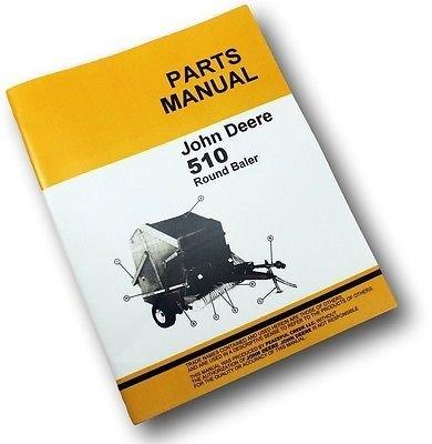 john deere 510 baler manual