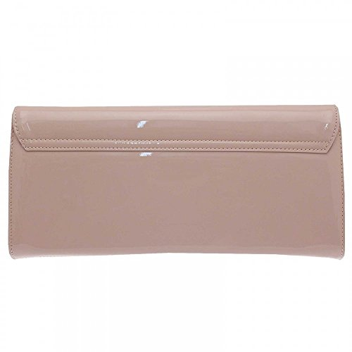 Peter Kaiser Liv Folder Over Clutch Bag With Strap Nude Patent Finishline Footlocker Salida ElV8Haesqb