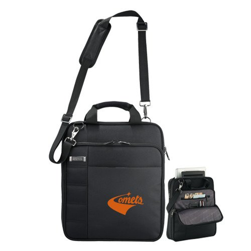 UT Dallas Kenneth Cole Black Vertical Checkpoint Friendly Messenger 'Official Logo' by CollegeFanGear