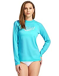 Baleaf Women's Long Sleeve Rashguard UPF 50+