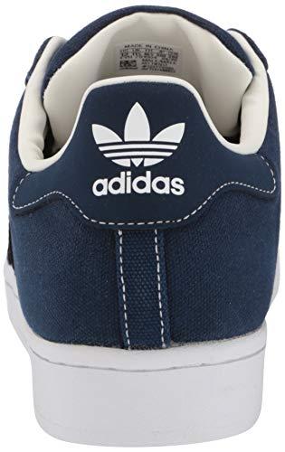 adidas Originals Men's Superstar Shoes Sneaker, Collegiate Navy/Collegiate Navy/Off White, 5.5