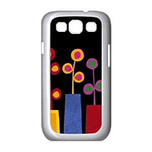 Summer Vases Samsung Galaxy S3 9300 Cell Phone Case White Protect your phone BVS_804169