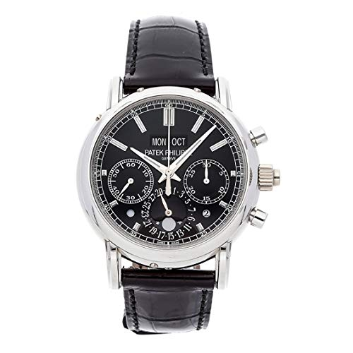 Patek Philippe Grand Complications Mechanical (Hand-Winding) Black Dial Mens Watch 5204P-011 (Certified Pre-Owned)