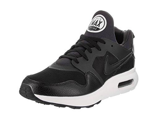 NIKE Men's Air Max Prime Black/Black/White Running Shoe 10 M