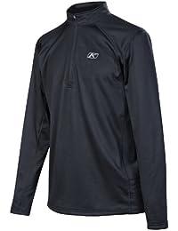 Defender 1/4 Zip Shirt Sm Black (Non-Current)