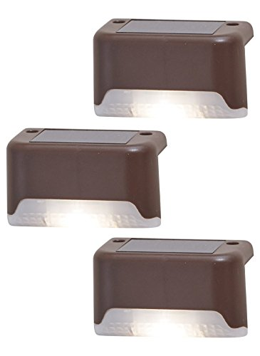 Carol Wright Gifts Solar Deck Lights Set of 3