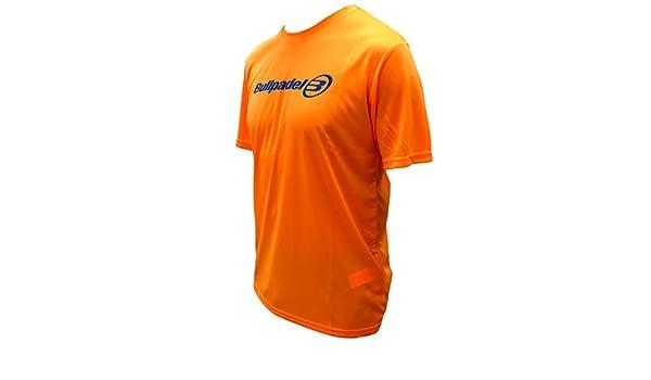 Camiseta Bullpadel Naranja ODP (XL): Amazon.es: Deportes y aire libre