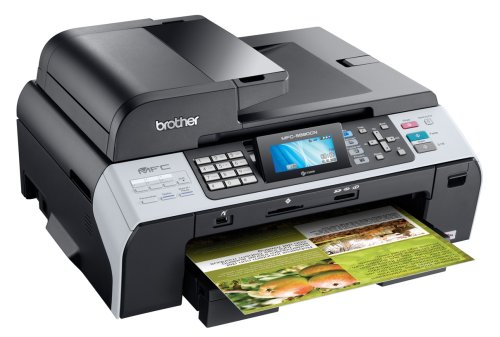 Brother MFC-5890CN Professional-Series Color Inkjet All-i...