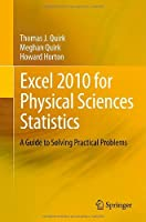 Excel 2010 for Physical Sciences Statistics Front Cover