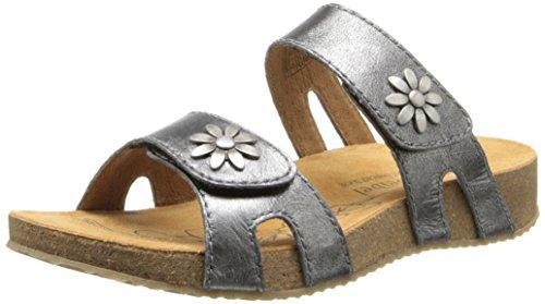 Josef Seibel Women's Tonga 04 Slide Sandal, Basalt, 40 EU/9-9.5 M US by Josef Seibel