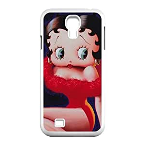 Betty Boop Red Dress Samsung Galaxy S4 9500 Cell Phone Case White toy pxf005_5834712