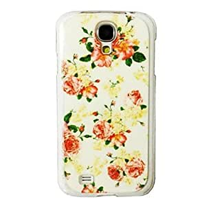 MOM Flowers Pattern Plastic Hard Case for Samsung Galaxy S4 I9500