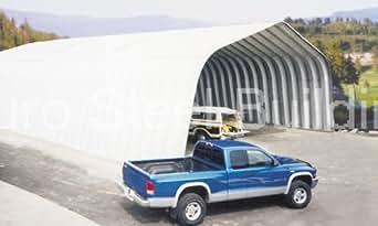 Amazon.com: Duro Steel A20x20x12 Metal Building Kit ...