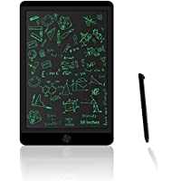 Coku 10' inch LCD Writing Tablet Notepad Drawing Board, Portable Reusable Erasable Ewriter, Digital Handwriting Pad Doodle Board for Kids and Adults at Home, School and Office with Lock Erase Button