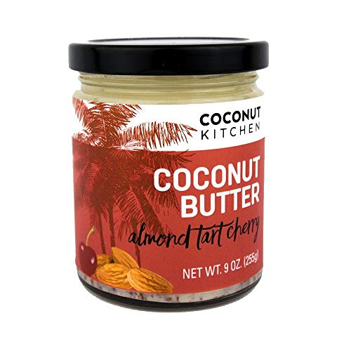 Artisan Cherry Almond Coconut Butter - Gluten , Peanut, Dairy & Soy Free. Vegan. Keto. Paleo. ()