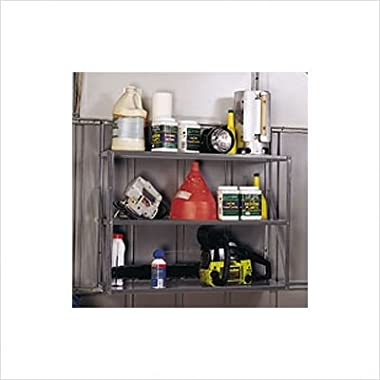 Arrow Shed SS900-B Three Tier Shelf Kit